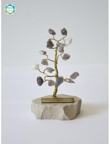 Drzewko szczęścia - agat...