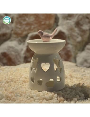 Ceramiczny kominek...