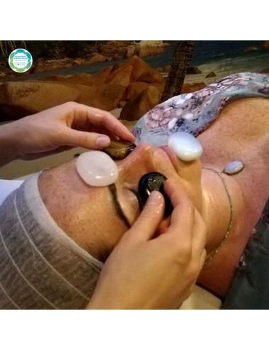 Witalizujący lito-masaż twarzy