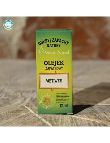 Olejek zapachowy - wetiwer