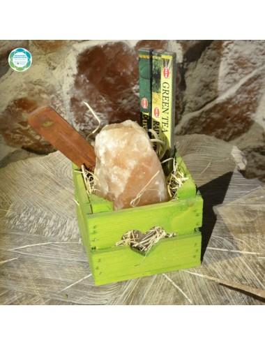 Zestaw prezentowy - zielony