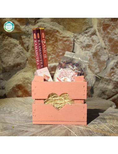 Zestaw prezentowy - różowy