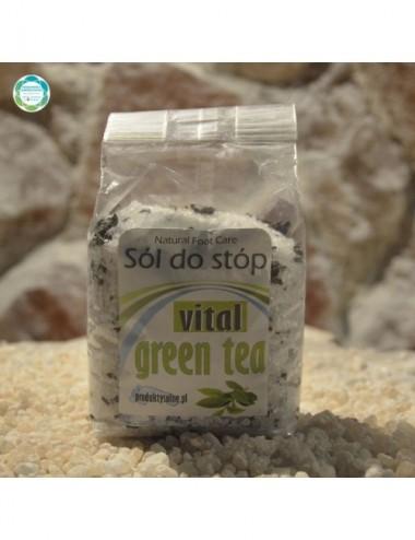 Sól do stóp – green tea