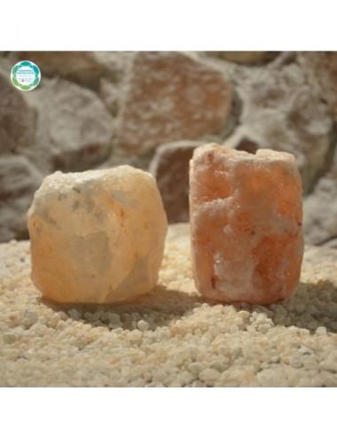 Świecznik solny naturalny -...